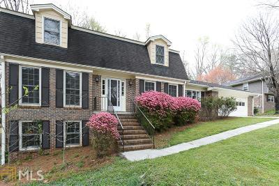 Lilburn Single Family Home Under Contract: 3925 White Oak Ln
