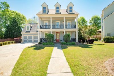 Hoschton Single Family Home For Sale: 7309 Hedgewood Way