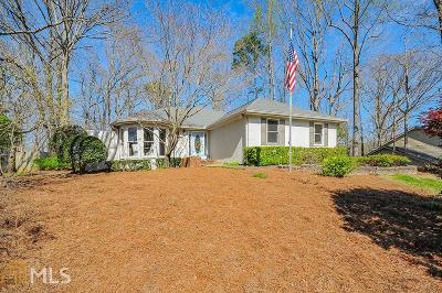 Sandy Springs Single Family Home Under Contract: 465 W Spalding Dr