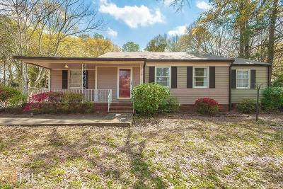 Coweta County Single Family Home Under Contract: 4 Meridian Dr