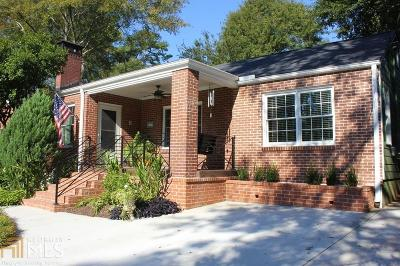 Decatur Single Family Home Under Contract: 2306 Sanford Rd