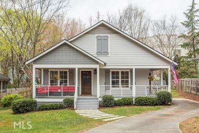 Decatur Single Family Home For Sale: 107 Hood Cir