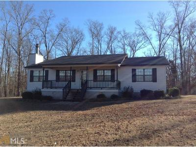 Griffin Single Family Home Under Contract: 100 Mangham