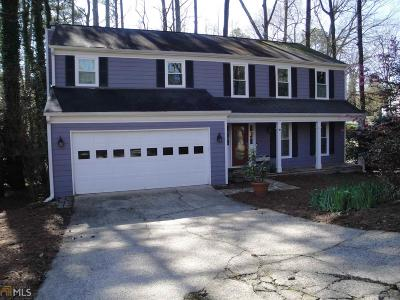 Roswell Single Family Home Under Contract: 350 Ivy Mill Ct