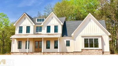Alpharetta, Milton, Roswell Single Family Home For Sale: 15795 Bon Endriot Dr