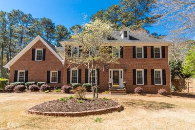 Lilburn Single Family Home Under Contract: 3915 Hunting Ridge