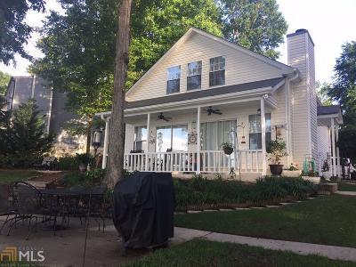 Greensboro, Eatonton Single Family Home Contingent With Kickout: 395 Arrowhead Trl