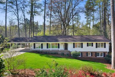Sandy Springs Single Family Home Under Contract: 480 Amberidge Trl