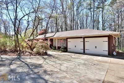 Lilburn Single Family Home Under Contract: 4335 Five Forks Trickum Rd