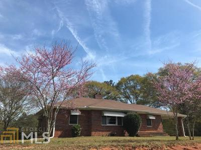 Griffin Single Family Home Under Contract: 2229 Fayetteville Rd