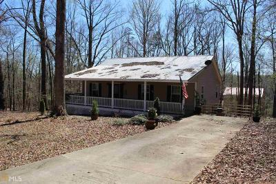 Lavonia Single Family Home Sold: 75 Trout Dr