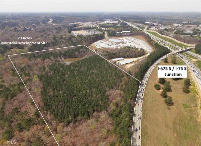 Henry County Commercial For Sale: Old Spear Rd I-675