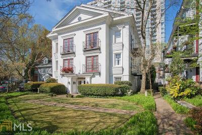 Midtown Condo/Townhouse Under Contract: 1072 Piedmont Ave #208