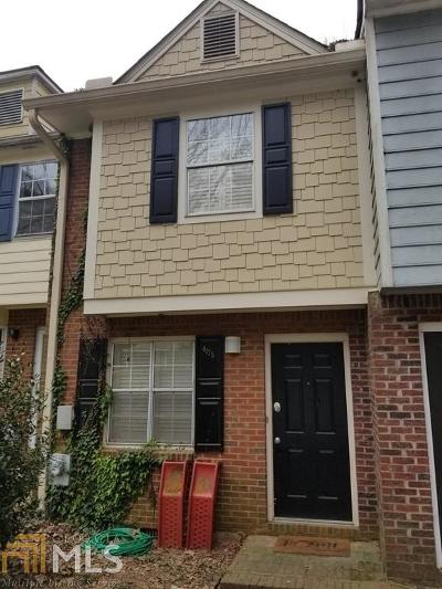 Tucker Condo/Townhouse For Sale: 4175 Pine Valley Rd