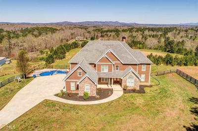 Cherokee County Single Family Home For Sale: 4245 Land Rd #14.81 Ac