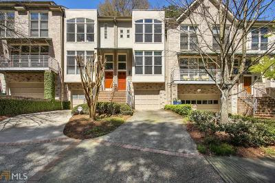 Brookhaven Condo/Townhouse For Sale: 1308 Fernwood Cir