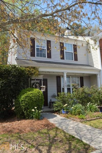 Kennesaw Condo/Townhouse Under Contract: 1867 Stancrest Trce