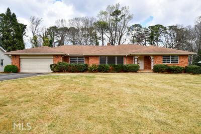 Druid Hills Single Family Home Under Contract: 915 Artwood Rd #002