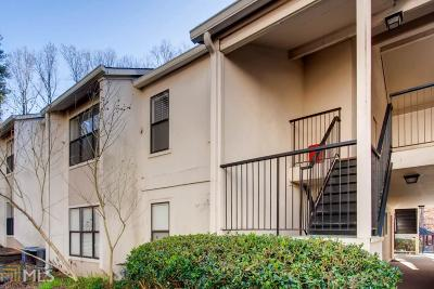 Sandy Springs Condo/Townhouse Under Contract: 1607 Huntingdon Chase