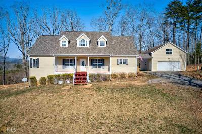Lumpkin County Single Family Home Under Contract: 4097 Highway 52