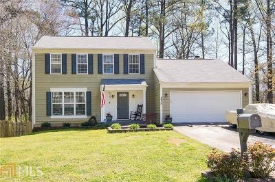Kennesaw Single Family Home Under Contract: 2935 Carrie Farm Rd