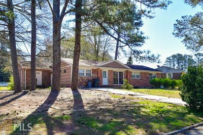 Chamblee Single Family Home Under Contract: 3101 Stratford Arms Dr
