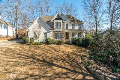 Johns Creek Single Family Home Under Contract: 360 Satterwhite Dr