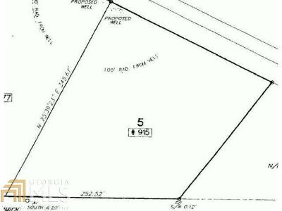 Dawsonville Residential Lots & Land For Sale: 915 Dawson Forest Rd