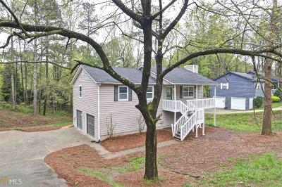Kennesaw Single Family Home Under Contract: 205 Shallowford Rd