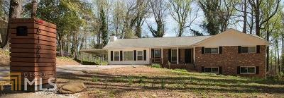 Norcross Single Family Home Under Contract: 6122 Meadowbrook Dr
