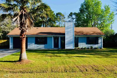 St. Marys Single Family Home Under Contract: 123 Cherry Point Dr