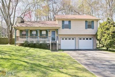 Kennesaw Single Family Home Under Contract: 4040 Sumit Wood Dr