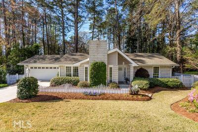 Rockdale County Single Family Home Under Contract: 1247 NE Country Lane Way
