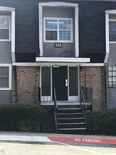 Sandy Springs Condo/Townhouse For Sale: 335 Winding River Dr #UNIT F