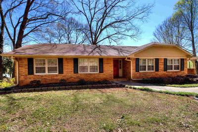 Cartersville Single Family Home Under Contract: 1 Ridgewood Dr