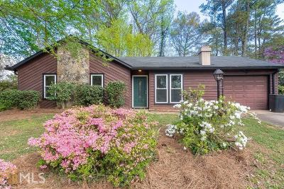 Stone Mountain Single Family Home Under Contract: 3846 W Wood Path
