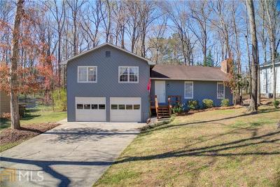 Roswell Single Family Home Under Contract: 4477 Old Mabry Pl