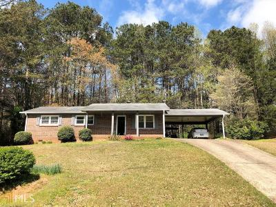 Douglas County Single Family Home Under Contract: 2192 Chestnut Log Loop
