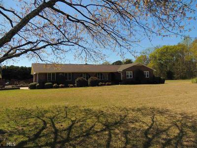 Elbert County, Franklin County, Hart County Single Family Home Under Contract: 1600 Melody Ln
