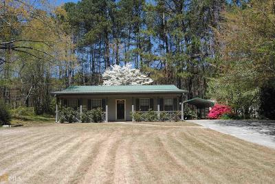 Douglas County Single Family Home Under Contract: 3974 Vansant Rd
