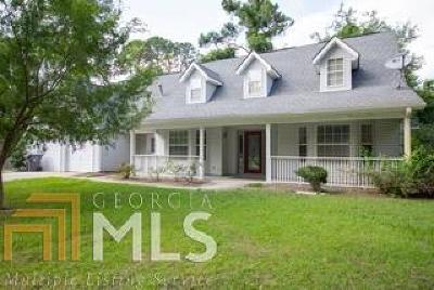 St. Marys Single Family Home For Sale: 186 Timber Ridge