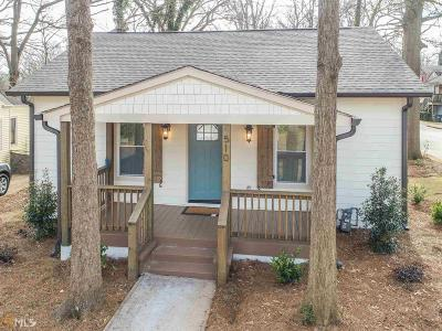 Hapeville Single Family Home Under Contract: 510 Lake Dr