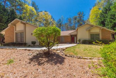 Peachtree City Single Family Home Under Contract: 110 Timber Ridge