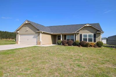Senoia Single Family Home Under Contract: 570 Rowe Rd #3.9 Ac