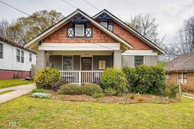 Kirkwood Single Family Home Under Contract: 2074 Dunwoody St