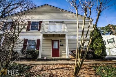 Marietta Condo/Townhouse For Sale: 1380 Old Coach Road