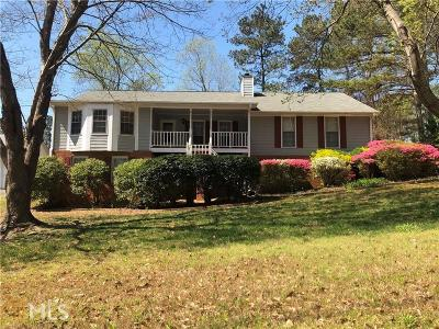 Snellville Single Family Home Under Contract: 2851 Shiloh Way