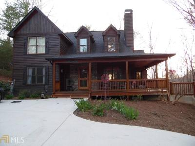Ellijay Single Family Home Under Contract: 33 Jersey Fleur Dr