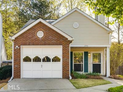 Kennesaw Single Family Home Under Contract: 2792 St Charles Ln