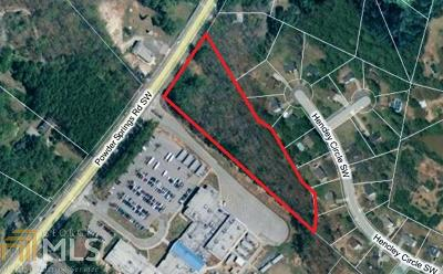 Cobb County Residential Lots & Land For Sale: 1999 Powder Springs Rd